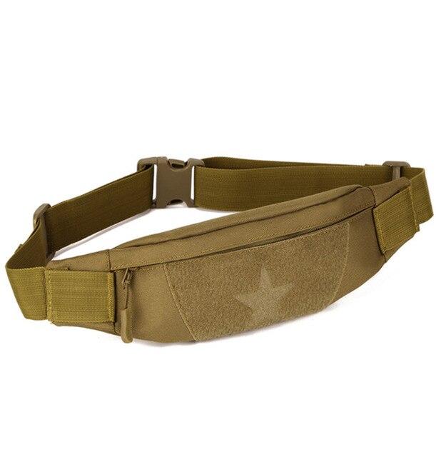 New Men Waterproof 1000d Nylon Travel Military Anti Theft Slim Cell Phone Hip Belt