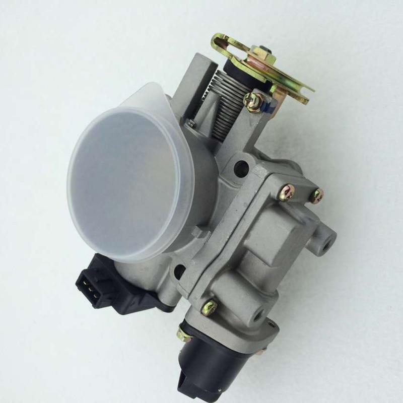 Throttle Body With Iacv Tps For Nissan Z24 24l Oem Ac57 001 8701mi