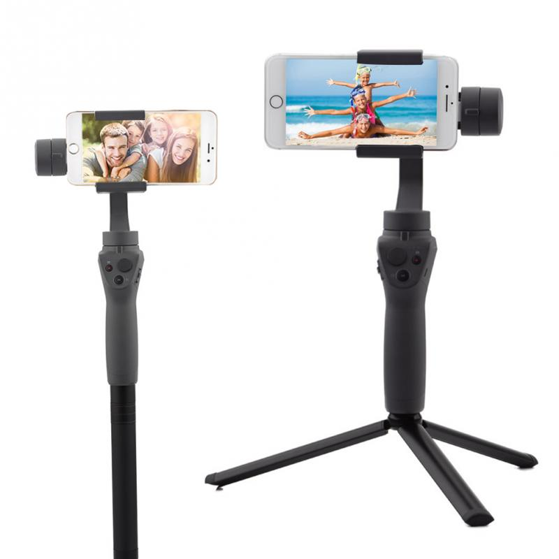 Black Multi-function Handheld Gimbal Gimbal Accessory Camera Tripod Stabilizer For DJI OSMO Mobile 2