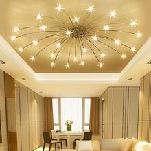 ФОТО Modern minimalist living room ceiling lamp bedroom lamp study creative personality restaurant lights lamps stars Atmosphere