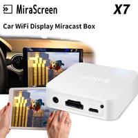 For IOS Android X7 Car WiFi Display WIFI Mirror Box Mirror Link for Car/ home Video Audio Miracast DLNA Airplay Screen Mirroring