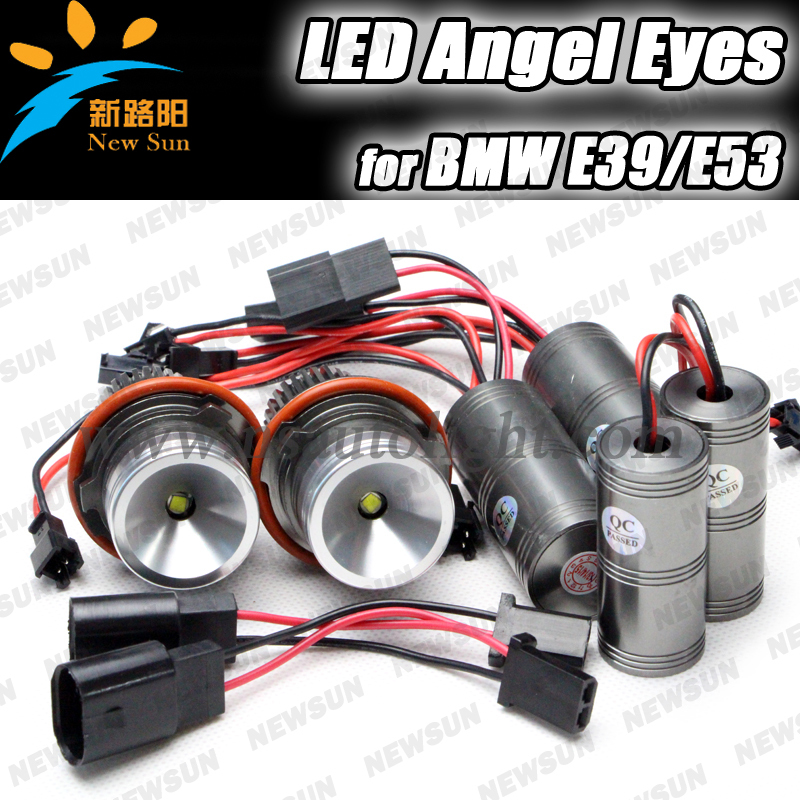 7000K Extremely Bright 10W CREE chip High Power LED Angel Eyes Bulbs for BMW E39 E53 E60 E63 E64 E65 E66 E83 5 6 7 Series X3 X5 car rear trunk security shield cargo cover for volkswagen vw tiguan 2016 2017 2018 high qualit black beige auto accessories