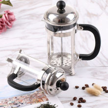Household Use Stainless Steel Borosilicate Pot Filter Tea Press Coffee Maker French Press Pot Filter Tea Maker Coffee Tool(China)