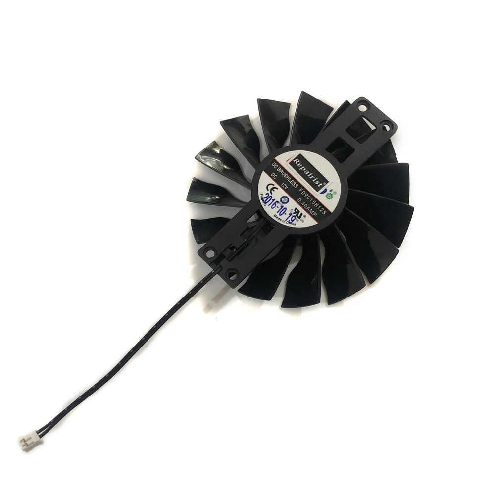 FD9015H12S 2PIN 0.4AMP GTX 970 960 GTX950 GPU VGA Soğutucu Video Fan GTX1060 JETSTRREAM Grafik Kartları Soğutma Değiştirme