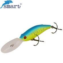 Smart Minnow Fishing Lure 7.5cm 10.8g Floating Hard Bait with VMC Hook Isca Artificial Pesca Leurre De Peche Wobbler Jerkbait цена 2017