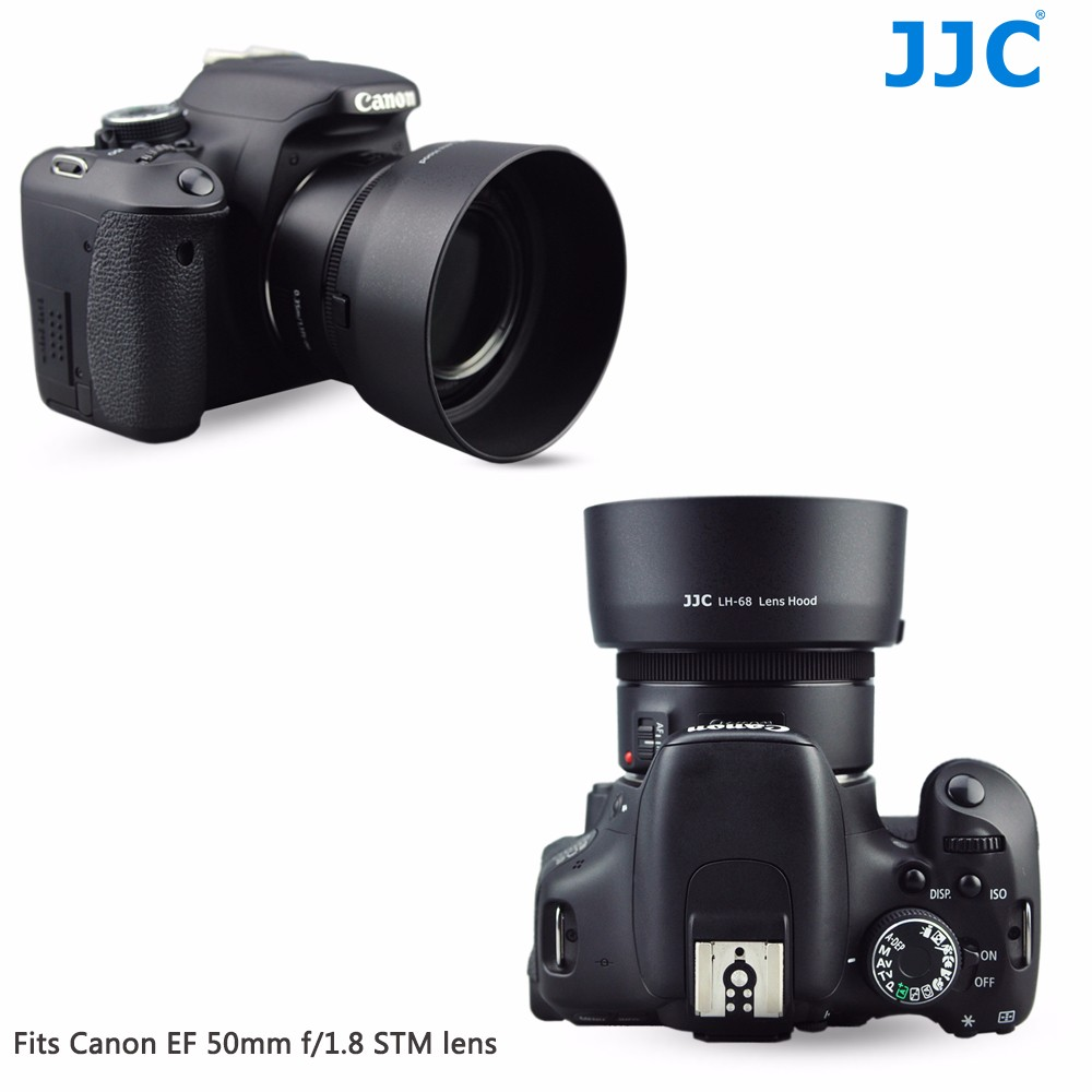 Jjc Lh 68 Bajonett Kamera Sonnenblende Fr Canon Ef 50mm F 18 Stm Lensa Objektiv Ersetzt Es