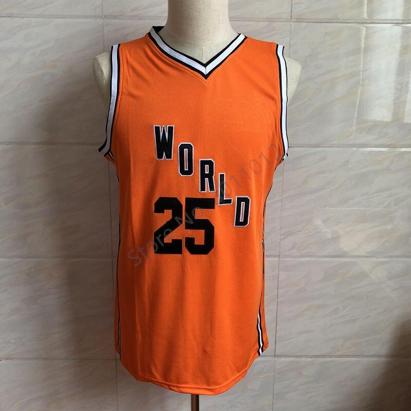free shipping b01a3 1e451 Rare 2018 Novo #25 Ben Simmons All Star World Team Reminiscência basketball  jersey all tamanho Bordado Costurado em Basquete Jerseys de Sports & ...