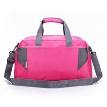 2017 hot sale New Arrival Waterproof Sports Bag Women Gym Bags Nylon outdoor bag Men Nylon Material Sports Portable Bags