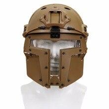 אביזרי פיינטבול Airsoft טקטי מסכה עם משקפי מסכת מגן CS מלא פנים בטיחות מסכות CS הצבאי משחק ציד