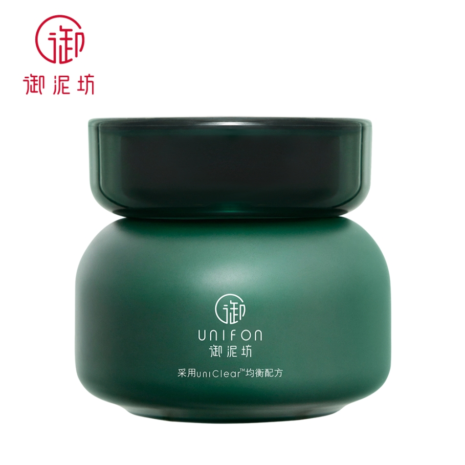 Unifon soin de la peau purifiant extrait de thé boue argile masque traitement de lacné contrôle de lhuile nettoyage naturel 90g