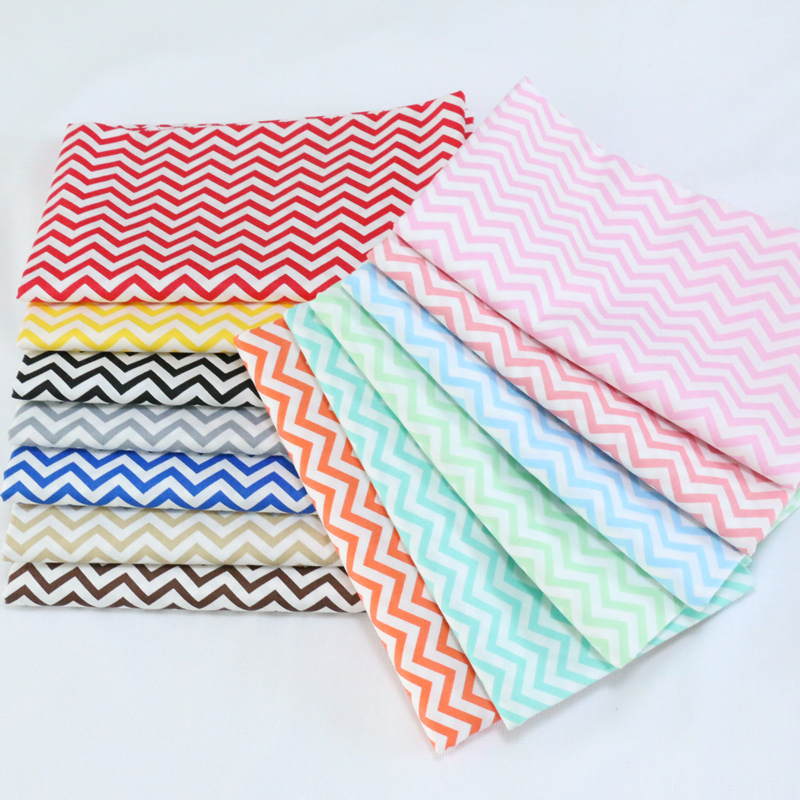 Zig zag chevron pink grey white  PRINTED 100/% COTTON FABRIC //METER //160cm WIDE