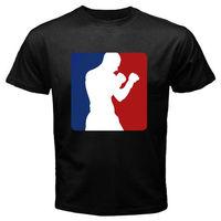 Gildian New PRO Logo Muaythai Kickboxer của Nam Giới Đen T-Shirt Size S M sml XL 2XL In Áo T Ngắn Tay Áo Người Đàn Ông Hot Giá Rẻ Men 'S