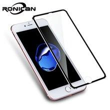 3D zakrzywione krawędzi jasne szkło hartowane pełne pokrycie dla iPhone 7 Plus 7 tytanu folia ochronna Screen Protector dla iPhone 6 6s