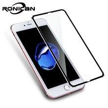 71f1c6a7e57 3D borde curvado cubierta completa de cristal templado para iPhone 7 Plus 7  Protector de pantalla