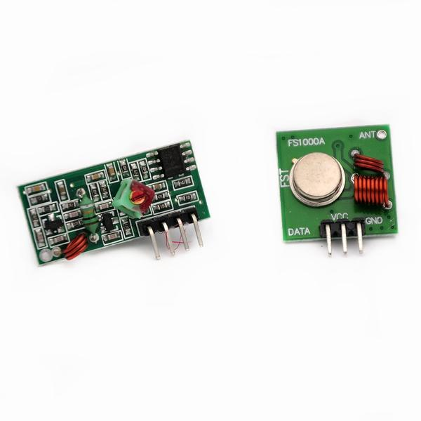 R7004 5Lot 5pair 10pcs 433Mhz RF transmitter and receiver Module link kit for font b Arduino