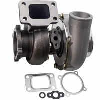 GT3582 GT35 turbosprężarka Turbo T3 AR.70/63 łożysko sprężarki przeciwprzepięciowej idealne do 4/6 cylindrowej turbiny turbolader 3.0L-6.0L