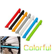 High Quality MTB Mountain Bike Cycling Bicycle Frame Chain Care Stay Posted Pad Protector Guard 225*20mm Colorful R0028(China)
