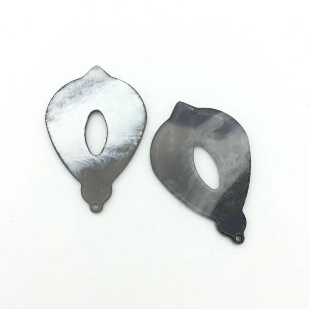 Accessoires de fabrication de bijoux à bricoler soi-même en acrylique en forme de goutte