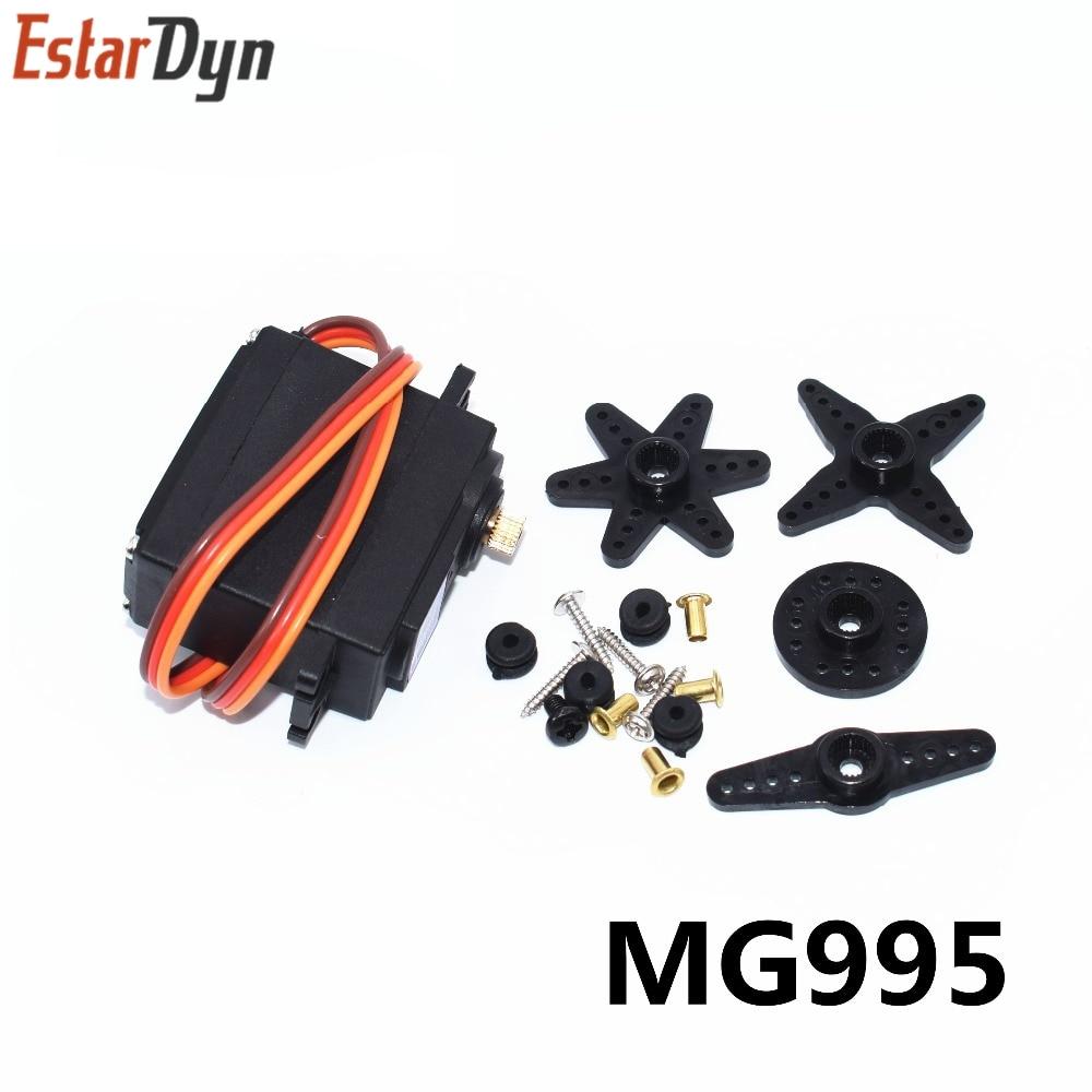 Free shipping 10pcs lot MG995 55g servos Digital Metal Gear rc car robot Servo MG995 55g