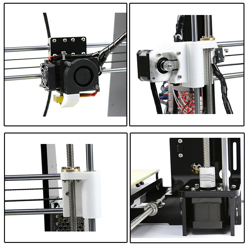Anet A8 3D Printer LCD Screen High Precision Reprap Impressora Desktop Acrylic Kit DIY Large Printing Size Self Assembly for Win in 3D Printers from Computer Office
