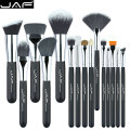 JAF Brand 15 pcs/set Makeup Brushes 15 pcs make up brush set high quality make-up brush kit free shipping J1502SSY-B