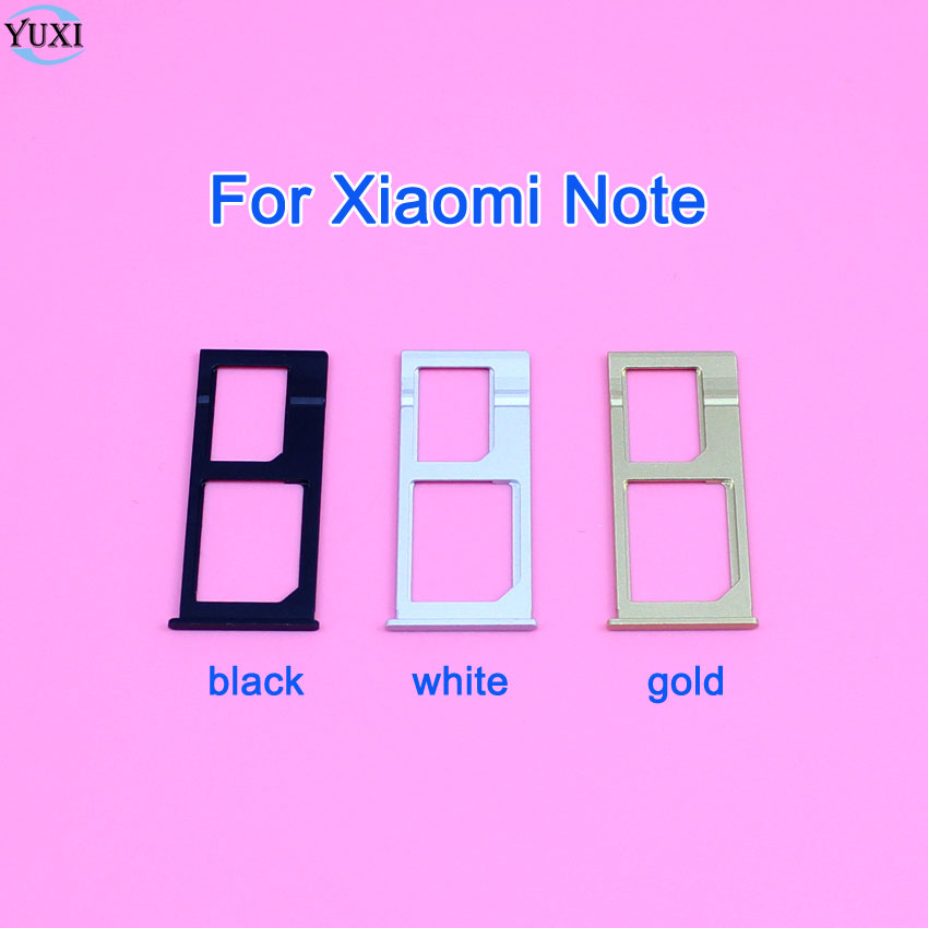 YuXi 1pcs Brand New Sim card adapter replacement part for Xiaomi Mi Note Sim card holder tray,