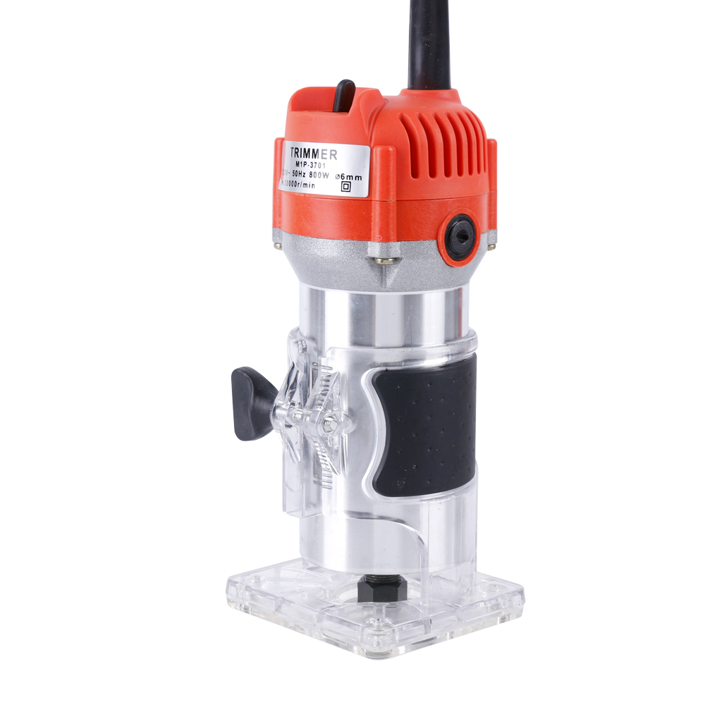 BLM-6 Woodworking Electric Trimming Machine Engraving Electromechanical Wood Milling Slot Machine Copper Motor DIY Woodworking 220v high power woodworking engraving machine electric router grooving trimming machine 1800w 23000rpm