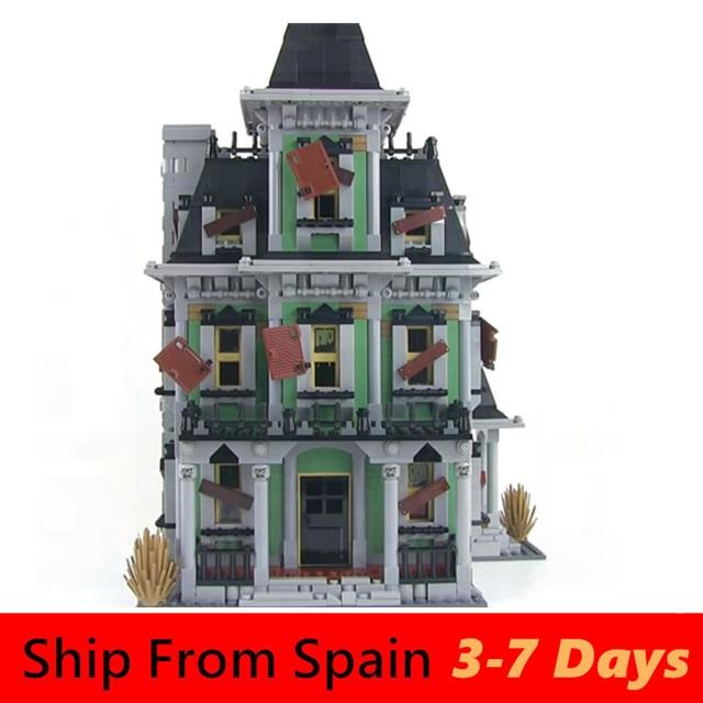 City Series Town Creator House 71040 10228 Cinderella Princess Castle Model Building Blocks Set Kids Toys Bricks Chrismas Gift