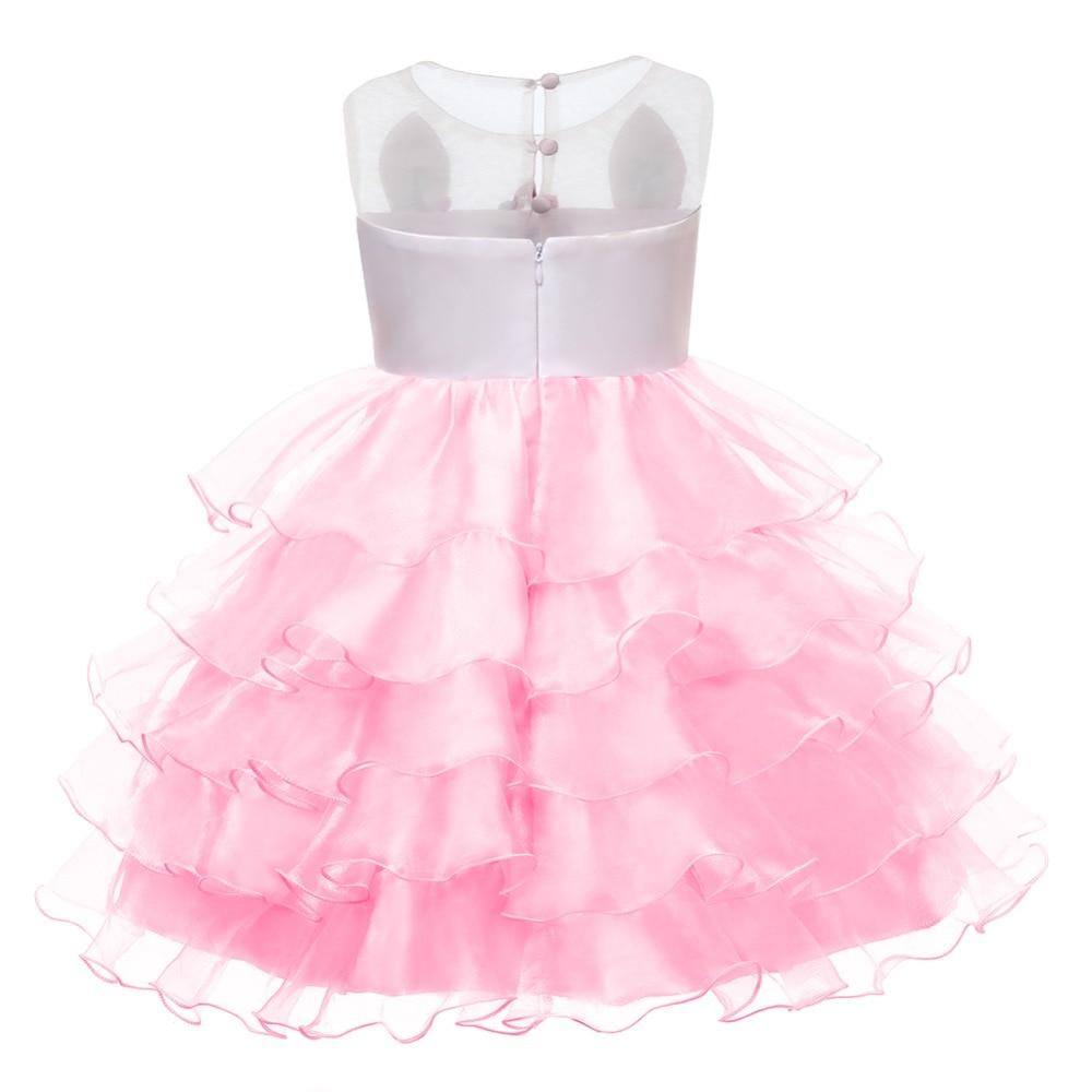 HTB1PTSeKeuSBuNjSsziq6zq8pXa0 Unicorn Dresses For Elsa Costume Carnival Christmas Kids Dresses For Girls Birthday Princess Dress Children Party Dress fantasia