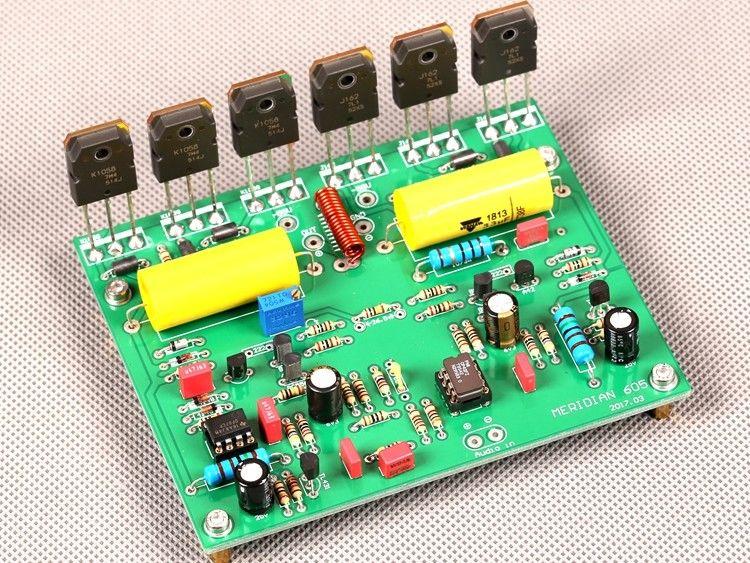 GZLOZOEN Assembeld 150W Mono Power Amplifier Board Base on Meridain 605 Amp L11-18GZLOZOEN Assembeld 150W Mono Power Amplifier Board Base on Meridain 605 Amp L11-18