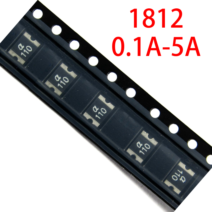 10Pcs Littelfuse Polyswitch SMD PTC Resettable Fuses 1812 1.5A 8V 1812L150ZR
