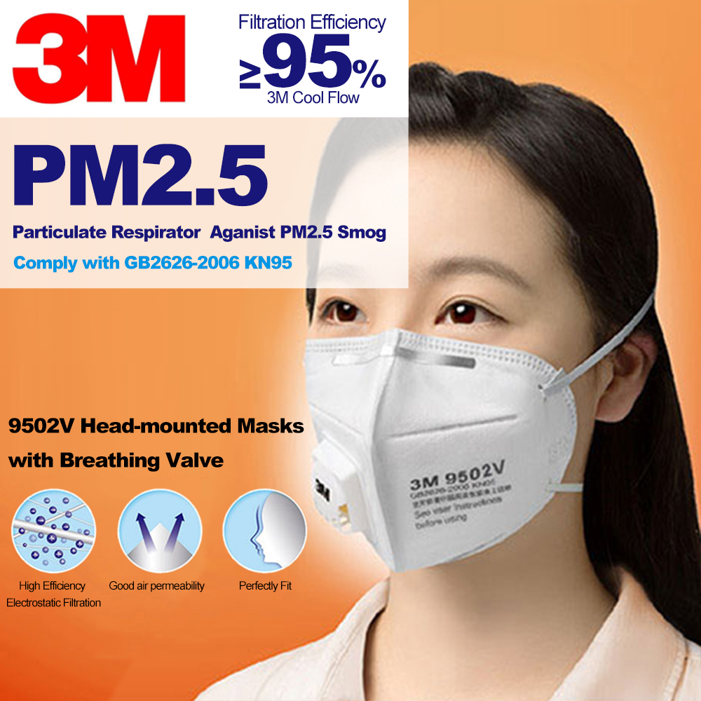 3m masks for germ protection and valve