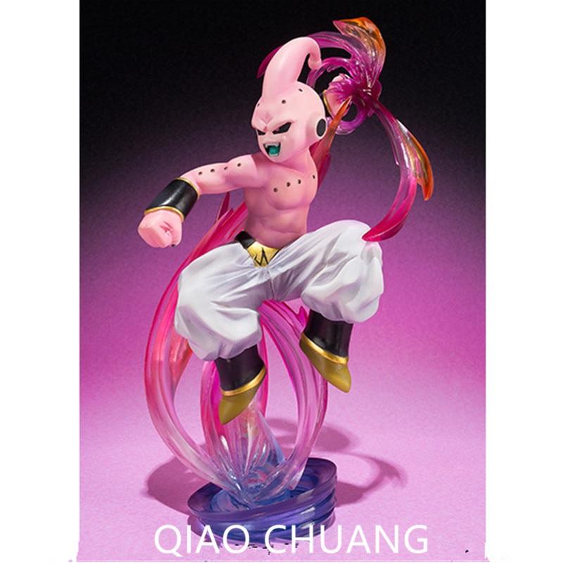 16CM Anime Dragon Ball Z A Martial Arts World Evil Magic Man Buu PVC Action Figure Collection Model Toy RETAIL BOX G138