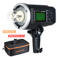 Godox Wistro AD600BM Bowens Mount 600W GN87 HSS 1/8000s Sync Outdoor Flash With 2.4G Wireless X System Build in 8700mAh Battery