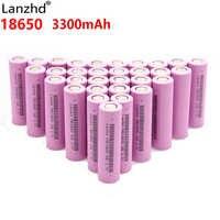 Para samsung 18650 baterías 3300mah INR18650 3,7 V baterías recargables Li ion lithium ion 18650 30a gran corriente 18650VTC7