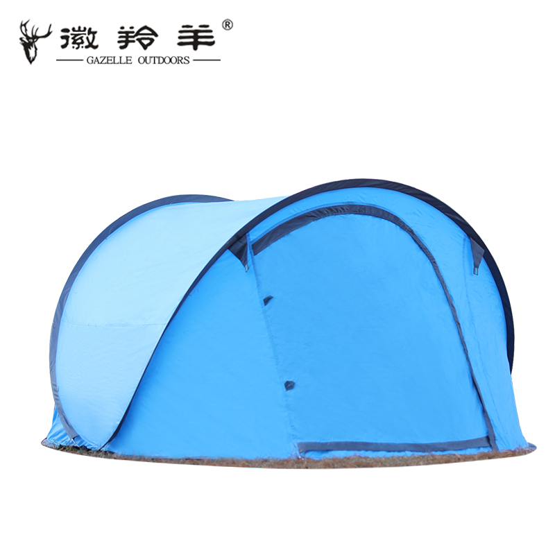 Emblem antelope tent Free take two seconds to open speed automatic double camping tent цена 2016