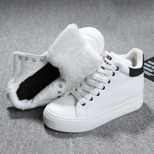 2016 Fashion Men Women Winter Snow Boots keep Warm Boots Plush Ankle boot Snow Work Shoes Men's Women's Outdoor Snow Boots 35-37