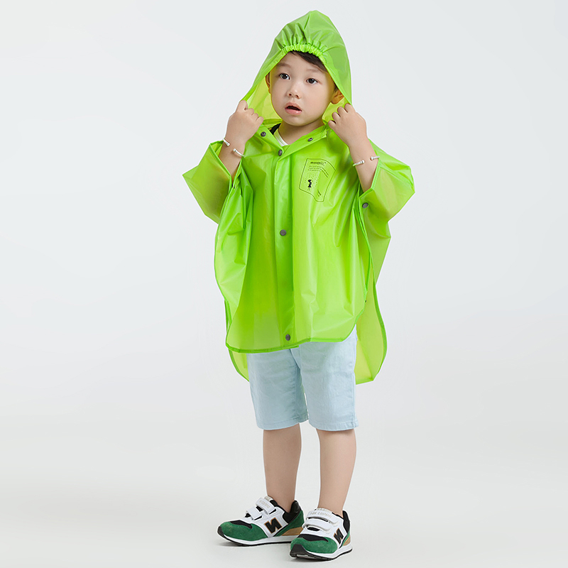 Rain Coat Kids Women Men Poncho Waterproof Boy Impermeable Para Lluvia Regenjas Cloak Rainwear Raincoat For Children QQG194