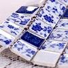 Polished Porcelain Mosaic Tiles Backsplash HMC1010 Ceramic Mosaic White Porcelain Wall Tile Bathroom Porcelain Floor Tiles