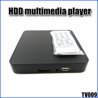 JEDX HDD Household Multimedia Player TV009 Versatile Screen MPEG1 MPEG2 MPEG4 USB SD Card DC 5V