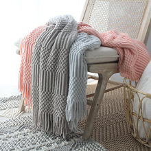 2017 New Fashion Super Soft Flannel Fleece Winter Blankets On The Bed Knitted Blankets Plaid Throw TV Traval Blanket Cover все цены