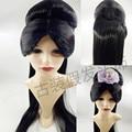 Chino antiguo peluca para las mujeres antiguas peluca de pelo para las mujeres de la dinastía de han dynnasty cosplay mujeres chinas antiguas