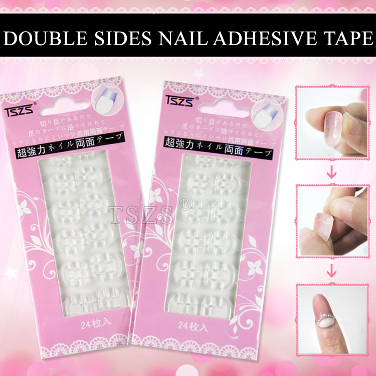 5pcs Lot Nail Tips Seal Tape Beauty Double Sided Transpa Adhesive Tabs In Stickers Decals From Health On Aliexpress Alibaba Group