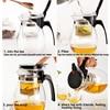 WALFOS High quality Heat Resistant Glass Teapot Chinese kung fu Tea Set Puer Kettle Coffee Glass Maker Convenient Office Tea Pot 3