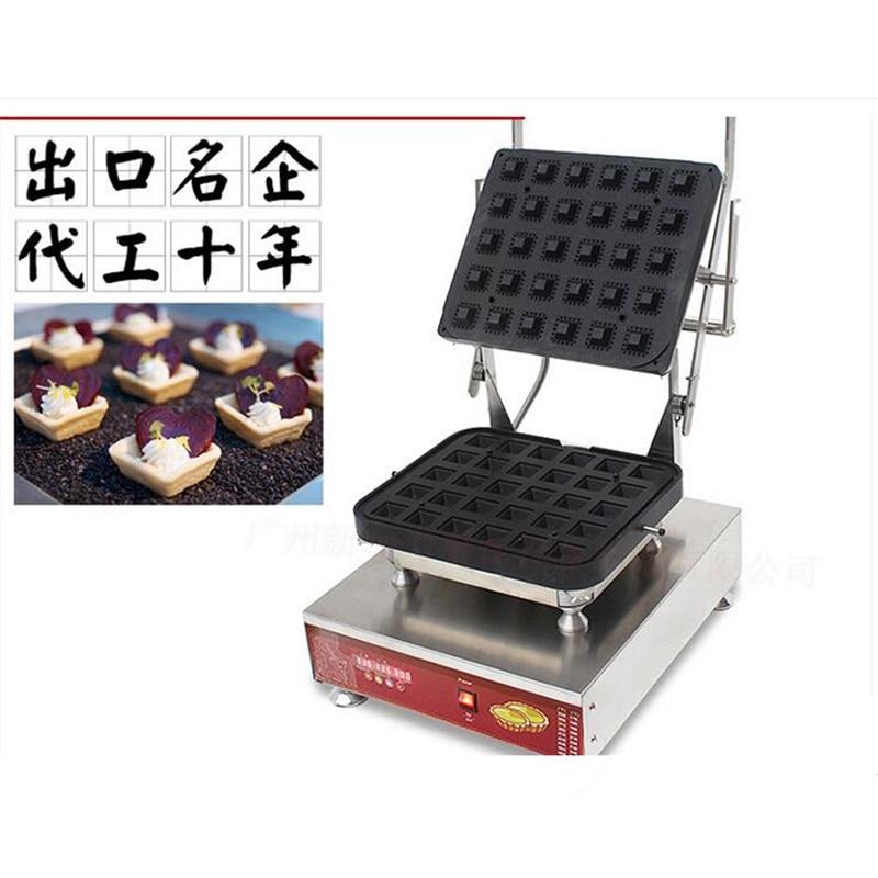 110V/220V Commercial Electric Tartlet Machine Egg Tart Molding Machine Cheese Tart Skin Machine <font><b>Ice</b></font> Cream Cone Skin Mold
