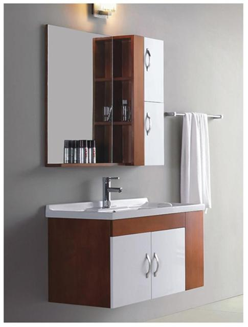 Charmant Wrigley Bathroom Wash Basins Wood Bathroom Counter, Single Bowl Washbasin  Cabinet Mirror Bathroom Cabinet Furniture