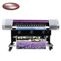 5.2 pés 18.5 máquina de impressão de alta velocidade da etiqueta digital um xp600 da cabeça impressão cor numeração impressora