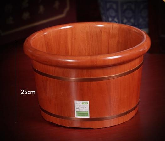 High Quality Foot Bath Barrel Solid Wood Foot Bath Tub Adult Wood Foot Pedicure Bath Barrel Household Footbath