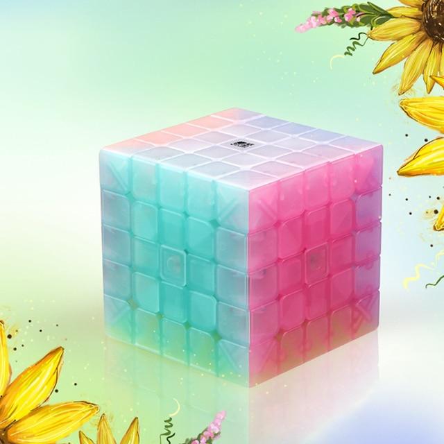 QIYI personalize 2x2x2 Jelly Stickerless Puzzles cube 3x3x3 magic speed qiyi cubes 4x4x4 cube 5x5x5 qiyi cube educational toys 6