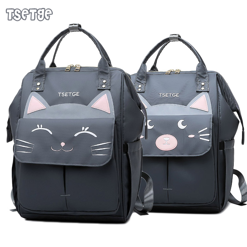 TSETGE Baby Bags For Mom Fashion Mummy Bag New Arrival 2019 Reflective Design Baby Changing Bag Bolso Maternal Mujer